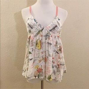 E by eloise Anthropologie babydoll blouse